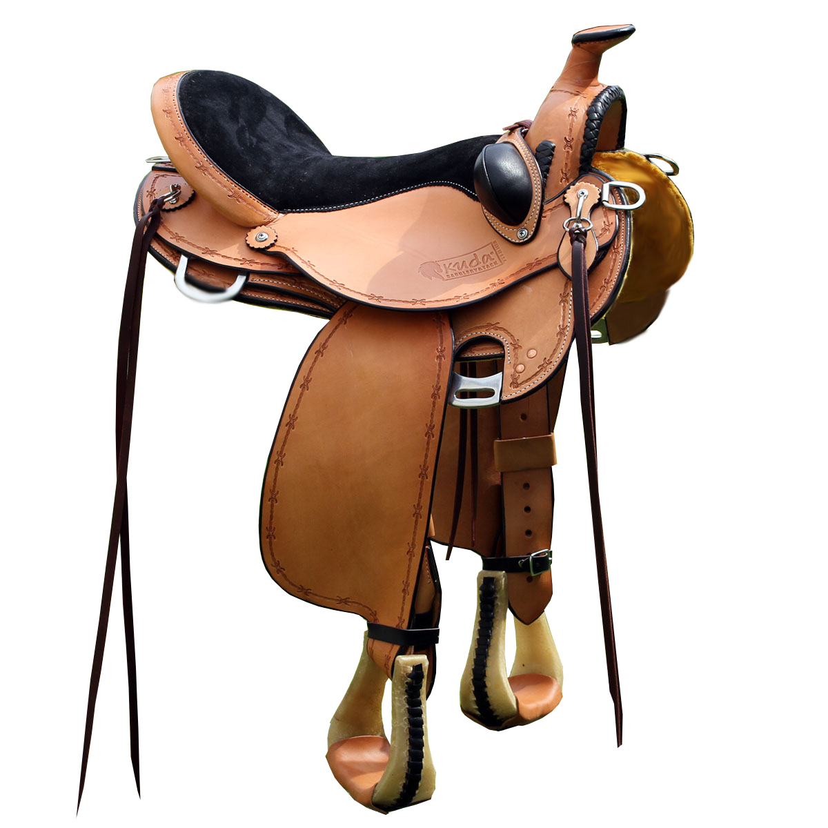 Kuda Elite Flex Saddle with horn