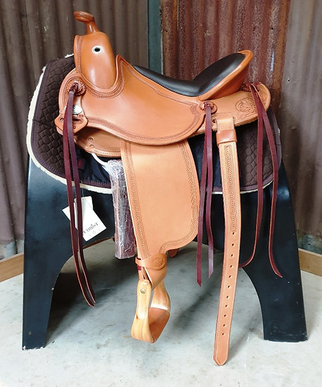 DP Vaquero SX 1805 Western Saddle