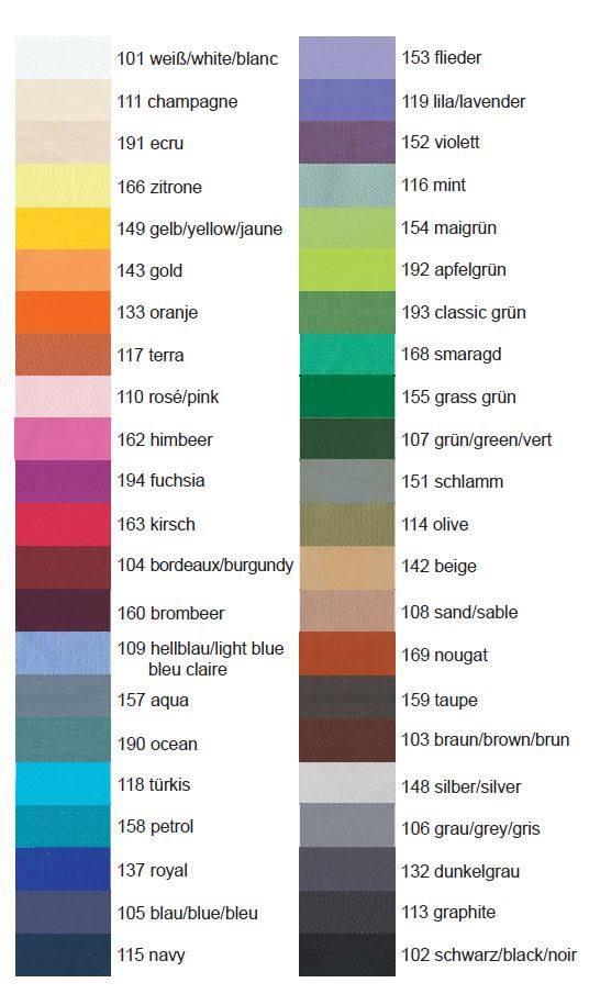 Binding Colours (Edging material)