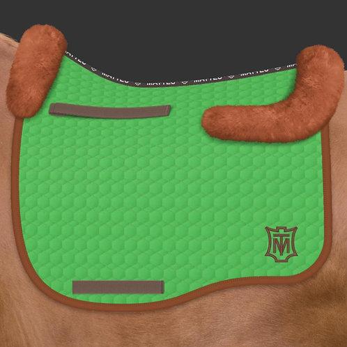Mattes Eurofit Dressage Saddle Pad + Sheepskin Trim Only