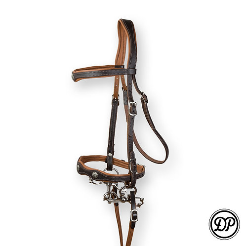 Soft Feel Baroque Deluxe Headstall