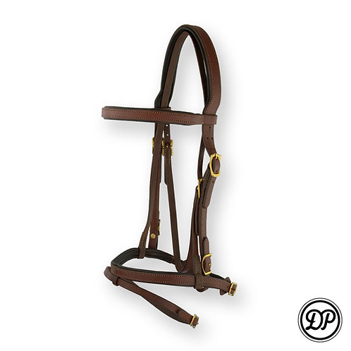 Soft Feel English Headstall with nose band