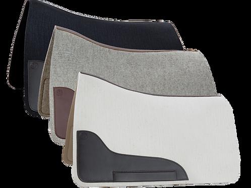 DP Wool Felt Amarant & Buckeburger Saddle Pad