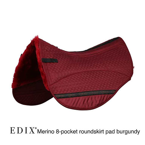 Edix 8 Pocket Merino Round Skirt Saddle Pad