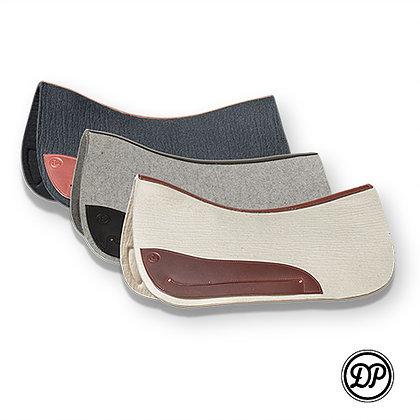 DP Wool Felt Quantum and Western Saddle Pad