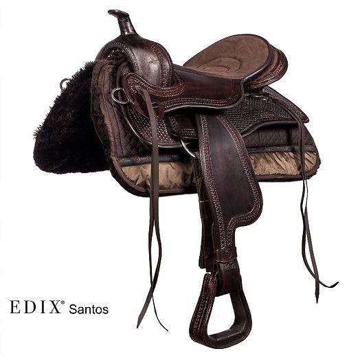 EDIX Santos compl. brown front fur pad b