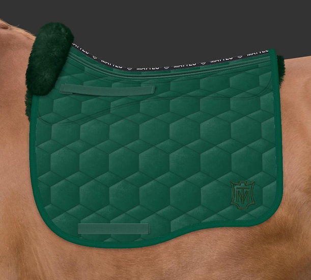 Mattes Eurofit Dressage Pad + Sheepskin Panels + Front trim + Correction System