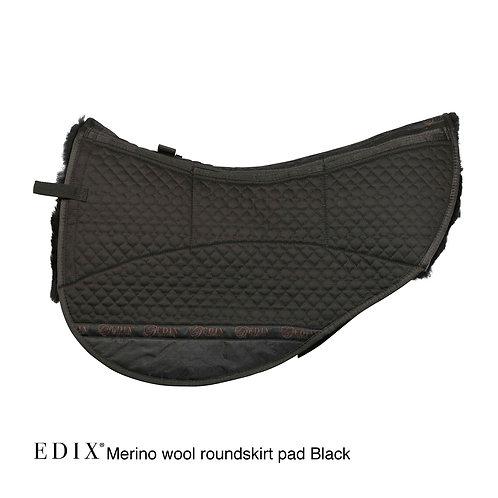 Edix 8 pocket Merino Round Pad Black