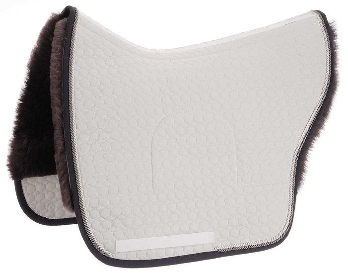 Mattes Spanish Saddle Pad + Sheepskin Panels + Correction System