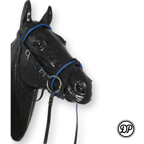 Soft Feel English Headstall with drop nose band