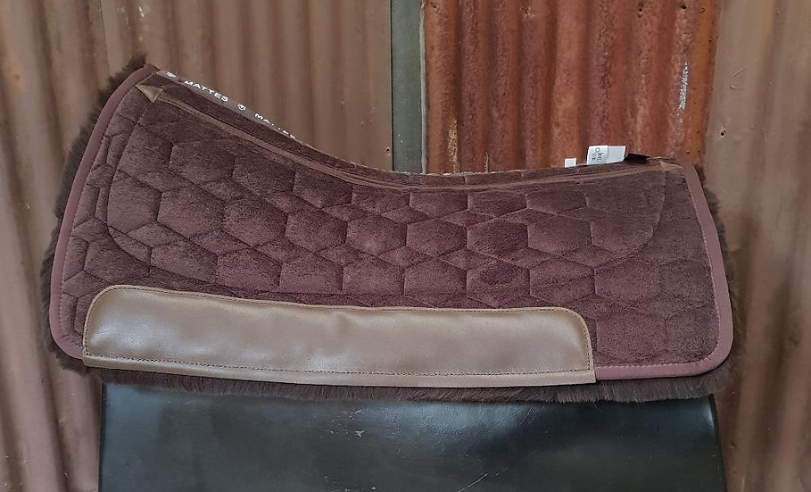 Mattes Square Western Pad with Correction System