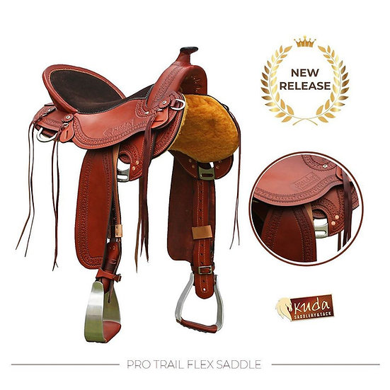 Kuda Pro Trail Flex Saddle ~ NEW MODEL