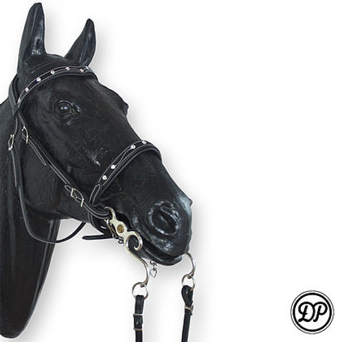 "Soft Feel Baroque Headstall ""Brilliant"""