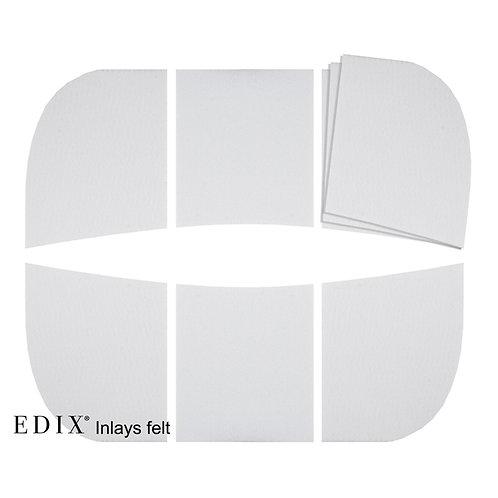 EDIX 18 piece Felt Inlays
