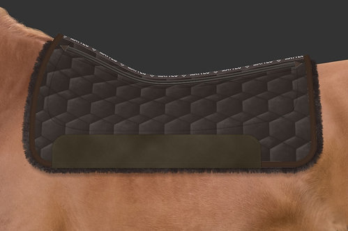Mattes Western Square Pad with Single Pocket Correction