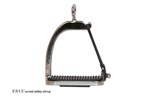EDIX Curved Safety Stirrup Irons