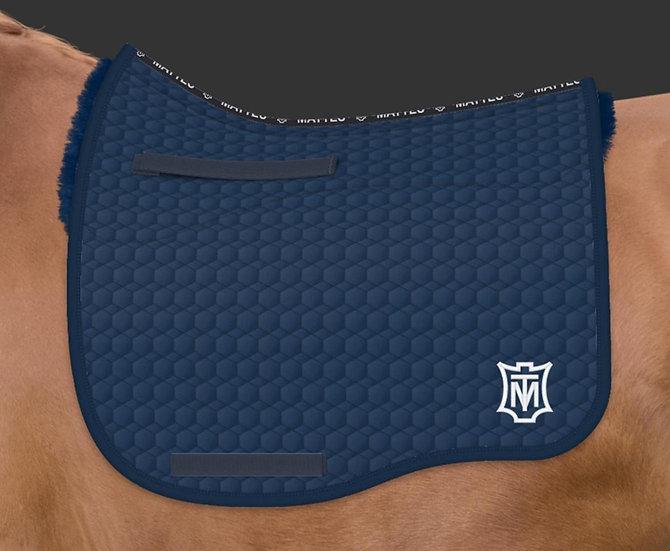 Mattes Eurofit Dressage Saddle Pad + Sheepskin Panels