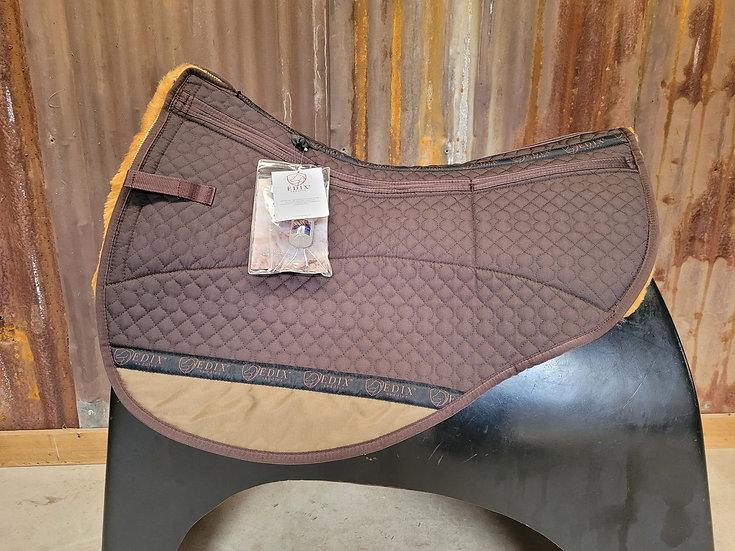 Edix 8 pocket Merino Round Pad Brown/cappuccino