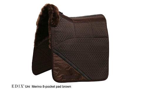 EDIX Uni Merino 8 Pocket Saddle Pad