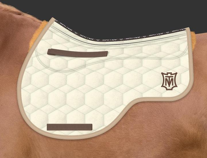 Mattes Eurofit All Purpose Saddle Pad + Sheepskin Panels + Correction System