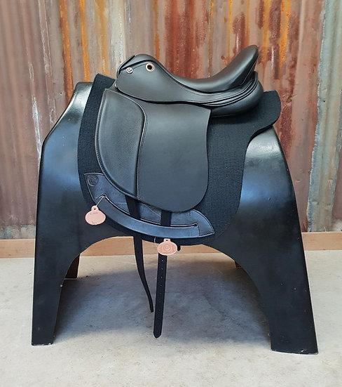DP Maxima All Black Dressage Saddle