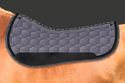 Mattes Round Western Pad Velvet with CORRECTION SYSTEM