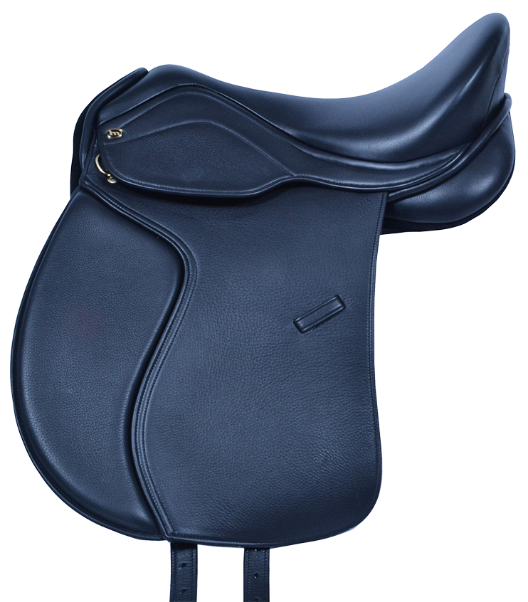 HM FlexEE Deluxe VSD Saddle in Black