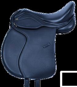 HM FlexEE Deluxe VSD Saddle in Black