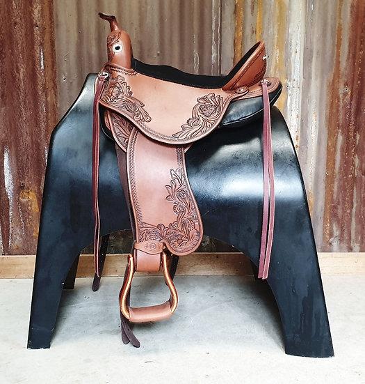 DP Quantum Short & Light Western Saddle
