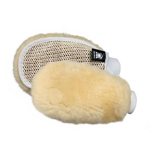 MATTES® Sheepskin Grooming Mitt
