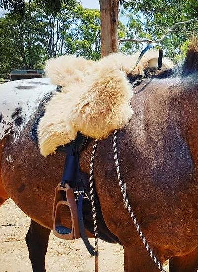 Ghost Cavallin Mandriana Wild Cut Bareback Saddle