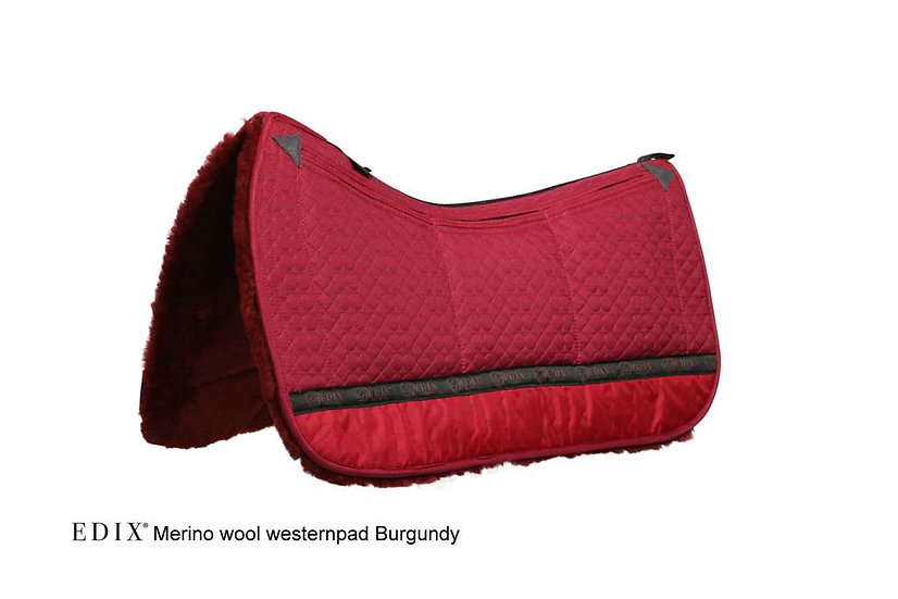 EDIX Uni 8 pocket Merino Western Saddle Pad