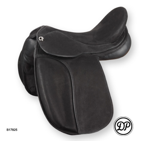 ST Dressage Treeless Saddle - Full Nubuc