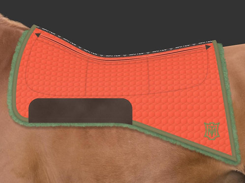 Mattes California Western Pad Quilt with CORRECTION SYSTEM