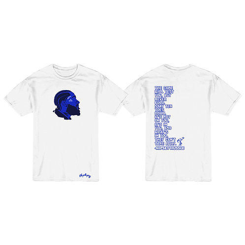 """Dedication"" Limited Edition Nipsey Hussle Tribute T-Shirt"
