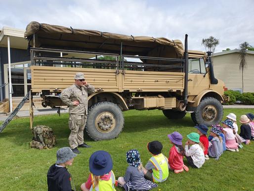 Defence Forces visit to Riversdale School