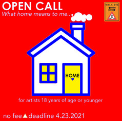"""Open Call: Group Show U18 artists - """"What home means to me"""""""