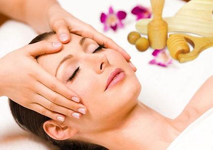 massage du visage maderotherapie visage.