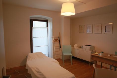 Salle de consultation - Centre d'Ostéopathie du Prieuré - Etoy