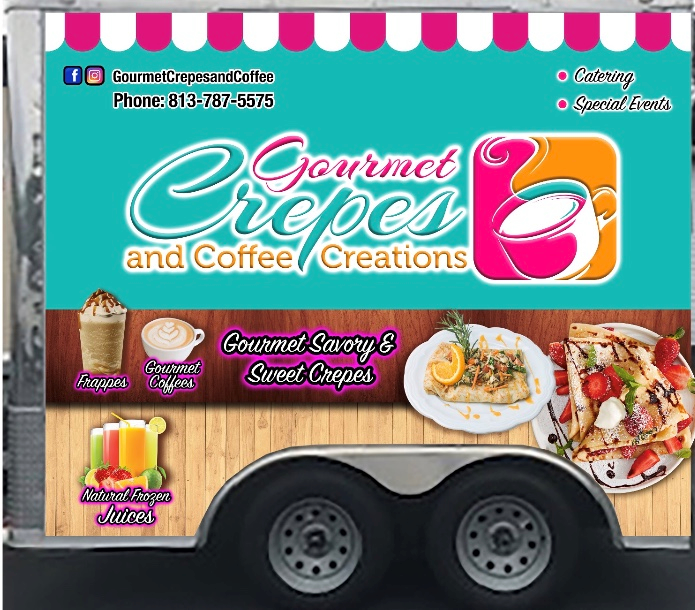 Gourmet Crepes and Coffee Creations