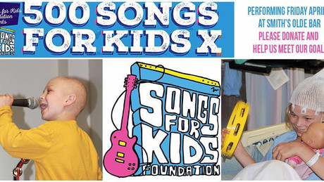 Friday, April 1st- Kristen performs for                                     500 Songs For Kids @ Smi