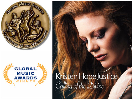 Calling of The Divine wins a Global Music Award bronze medal! Stream live this Thursday,a special C