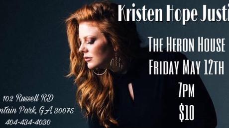 The Heron House Friday May 12th!