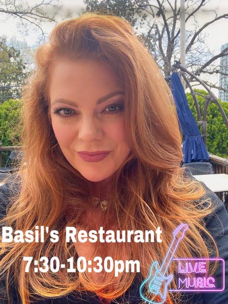 Live Music @ Basil's, Saturday March 27th, 7-10pm