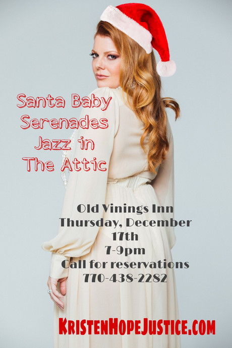 Thursday December 17th @ Old Vinings Inn 7-9pm