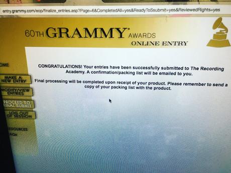 Grammy Goals!