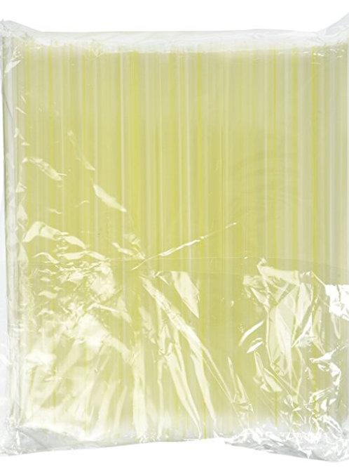 "CBT Clear Jumbo 8"" Straws (1000ct)"