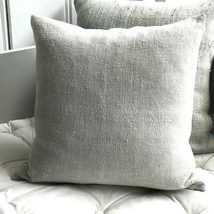 Antique Linen Cushion Cover