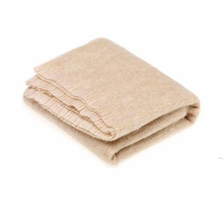 Mohair blanket-Blonde
