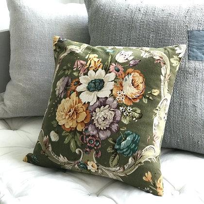 Vintage Floral Cushion Cover